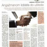 2008_11_10 Angažmanom lobista do ušteda_SLIKA