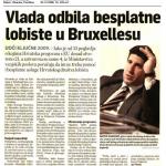 2008_12_02_Vlada odbila besplatne lobiste u Bruxellesu_SLIKA