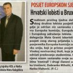 2009_01_21 Posjet europskom sjedištu_Hrvatski lobisti u Bruxellesu_SLIKA