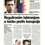 2009_08_24 Reguliranim lobiranjem u borbu protiv korupcije_SLIKA