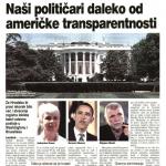 2009_09_11 Naši političari daleko od američke transparentnosti_SLIKA