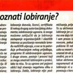 2011_08_02 Kako prepoznati lobiranje_SLIKA